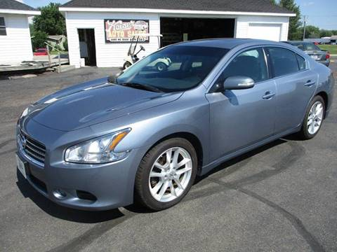 2010 Nissan Maxima for sale in Spencer, WI