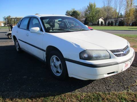 2004 Chevrolet Impala for sale in Spencer, WI