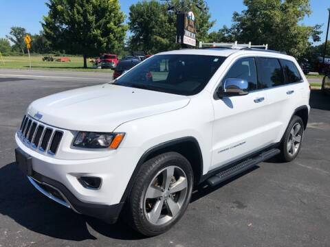 2016 Jeep Grand Cherokee for sale at BATTENKILL MOTORS in Greenwich NY