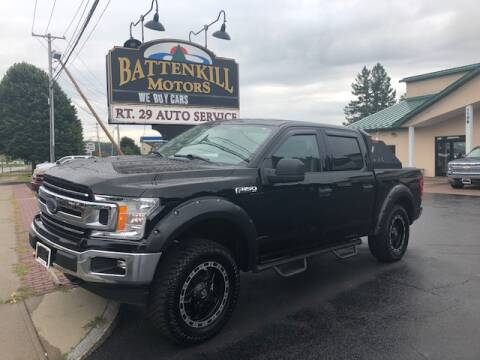 2018 Ford F-150 for sale at BATTENKILL MOTORS in Greenwich NY