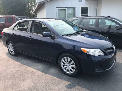 2012 Toyota Corolla for sale at BATTENKILL MOTORS in Greenwich NY
