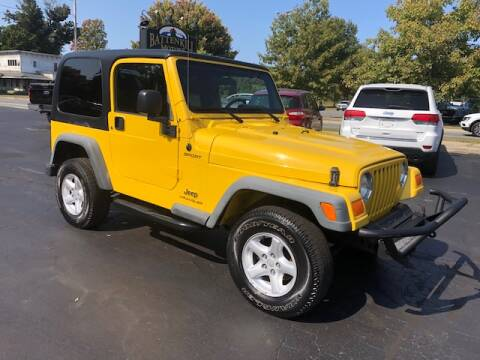 2004 Jeep Wrangler for sale at BATTENKILL MOTORS in Greenwich NY