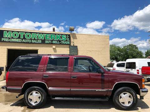 1999 Chevrolet Tahoe for sale in Eastpointe, MI