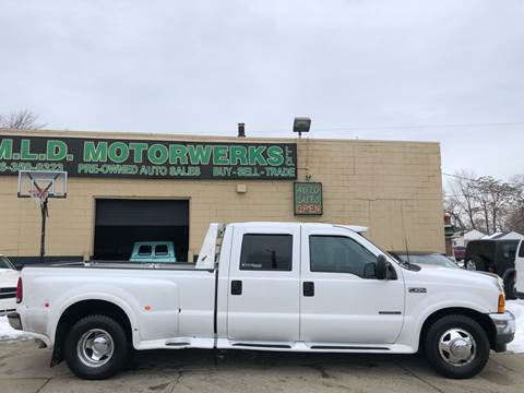 2001 Ford F-350 Super Duty Lariat for sale at MLD Motorwerks Pre-Owned Auto Sales - MLD Motorwerks, LLC in Eastpointe MI