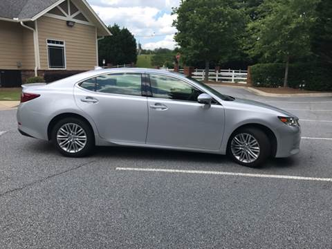 2015 Lexus ES 350 for sale at Paramount Autosport in Kennesaw GA