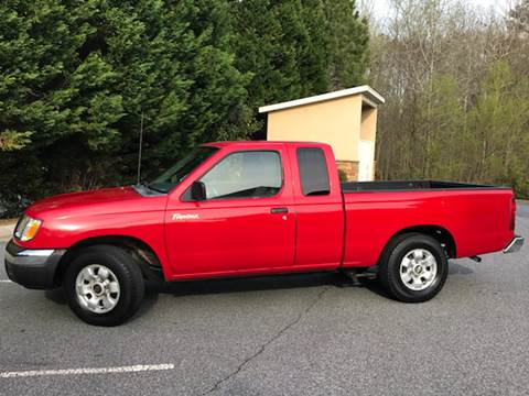 2000 Nissan Frontier for sale at Paramount Autosport in Kennesaw GA