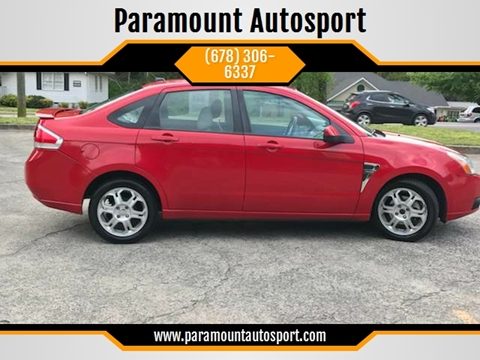 2008 Ford Focus for sale at Paramount Autosport in Kennesaw GA