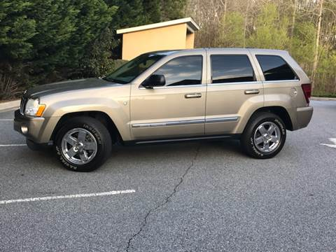 2005 Jeep Grand Cherokee for sale at Paramount Autosport in Kennesaw GA