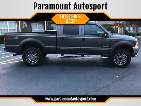 2003 Ford F-250 Super Duty for sale at Paramount Autosport in Kennesaw GA