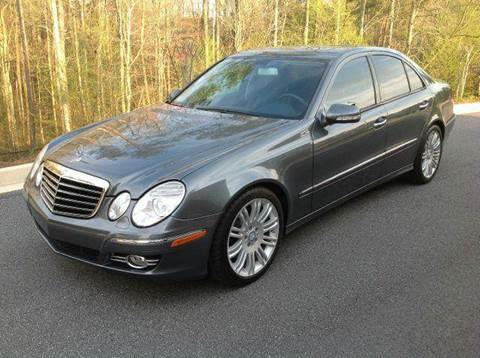 2008 Mercedes-Benz E-Class for sale at Paramount Autosport in Kennesaw GA