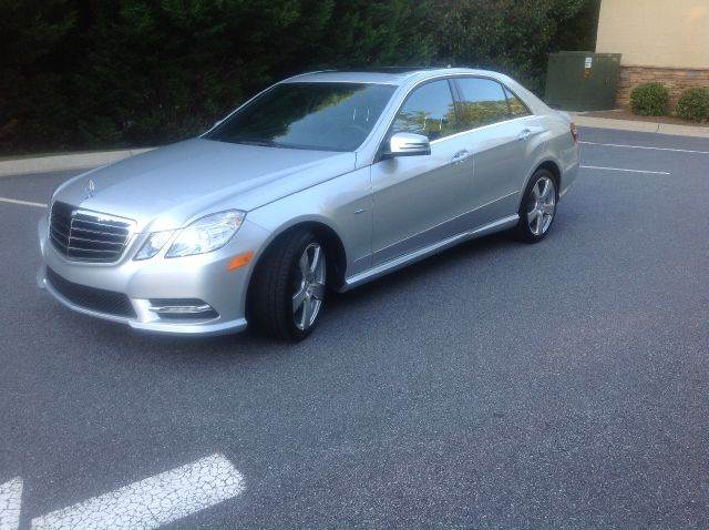 2012 Mercedes-Benz E-Class for sale at Paramount Autosport in Kennesaw GA