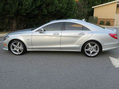 2012 Mercedes-Benz CLS-Class for sale at Paramount Autosport in Kennesaw GA