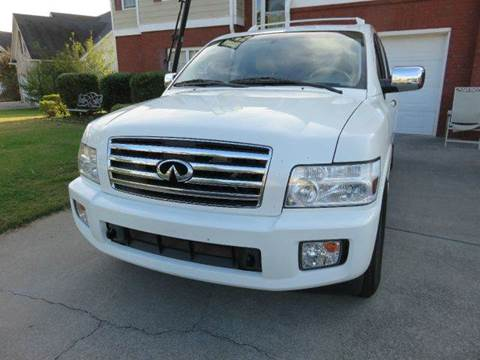 2007 Infiniti QX56 for sale at Paramount Autosport in Kennesaw GA