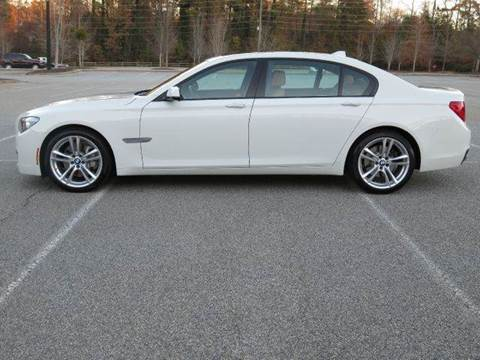 2012 BMW 7 Series for sale at Paramount Autosport in Kennesaw GA