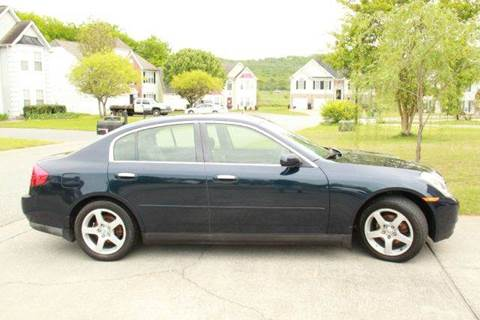 2004 Infiniti G35 for sale at Paramount Autosport in Kennesaw GA