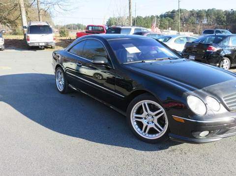 2002 Mercedes-Benz CL-Class for sale at Paramount Autosport in Kennesaw GA