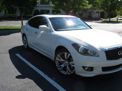 2012 Infiniti M37 for sale at Paramount Autosport in Kennesaw GA