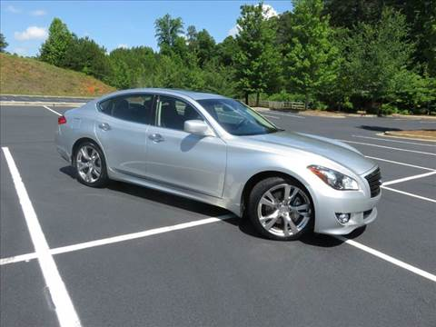 2012 Infiniti M56 for sale at Paramount Autosport in Kennesaw GA