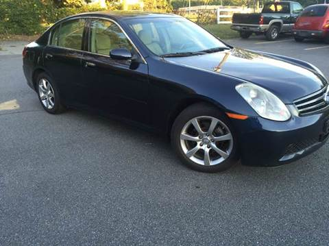 2005 Infiniti G35 for sale at Paramount Autosport in Kennesaw GA