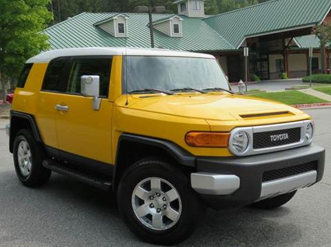 2010 Toyota FJ Cruiser for sale at Paramount Autosport in Kennesaw GA