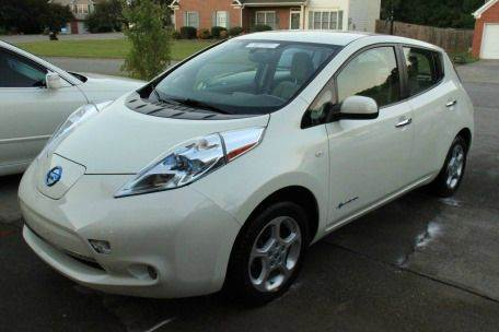 2012 Nissan LEAF for sale at Paramount Autosport in Kennesaw GA