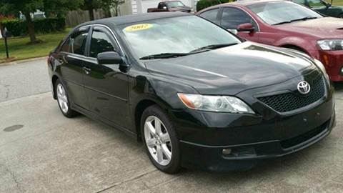 2007 Toyota Camry for sale at Paramount Autosport in Kennesaw GA