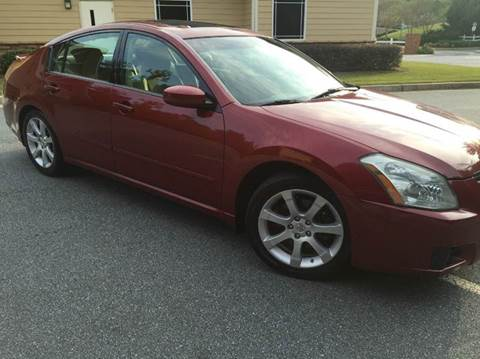 2007 Nissan Maxima for sale at Paramount Autosport in Kennesaw GA
