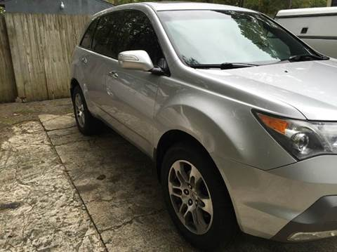 2008 Acura MDX for sale at Paramount Autosport in Kennesaw GA