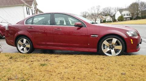 2009 Pontiac G8 for sale at Paramount Autosport in Kennesaw GA
