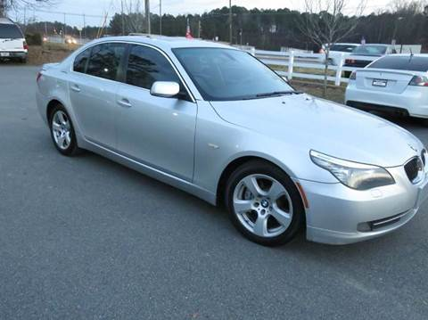 2008 BMW 5 Series for sale at Paramount Autosport in Kennesaw GA