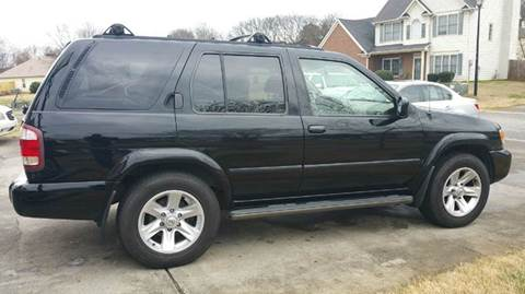 2002 Nissan Pathfinder for sale at Paramount Autosport in Kennesaw GA