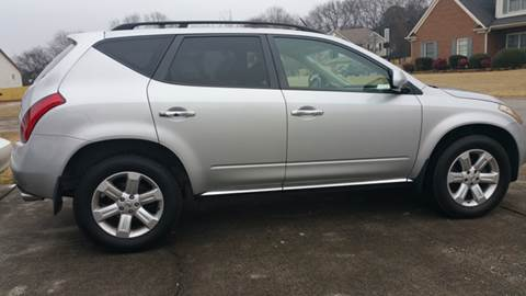 2006 Nissan Murano for sale at Paramount Autosport in Kennesaw GA