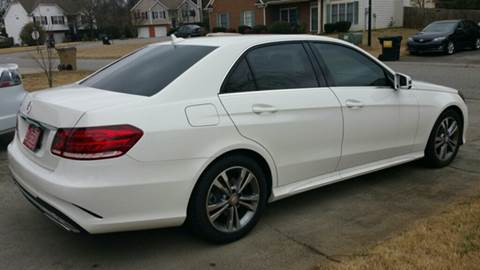 2015 Mercedes-Benz E-Class for sale at Paramount Autosport in Kennesaw GA