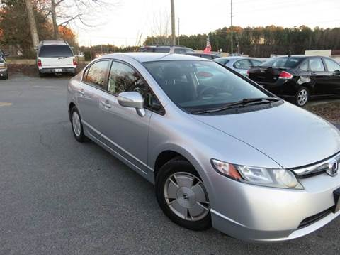 2008 Honda Civic for sale at Paramount Autosport in Kennesaw GA