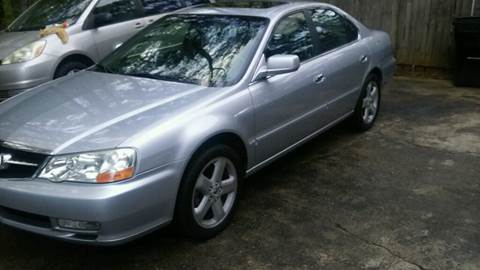 2003 Acura TL for sale at Paramount Autosport in Kennesaw GA