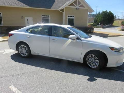 2013 Lexus ES 350 for sale at Paramount Autosport in Kennesaw GA