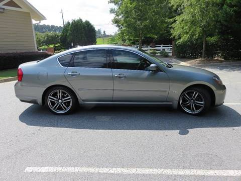 2006 Infiniti M35 for sale at Paramount Autosport in Kennesaw GA