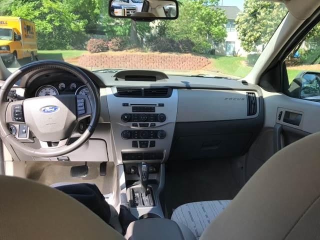 2009 Ford Focus Se 4dr Sedan In Kennesaw Ga Paramount Autosport