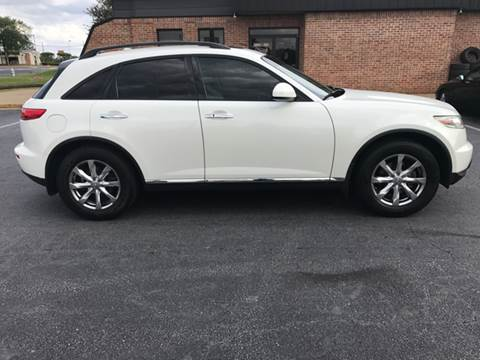 2008 Infiniti FX35 for sale at Paramount Autosport in Kennesaw GA