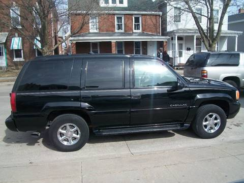 Used 2000 Cadillac Escalade For Sale in Iowa - Carsforsale.com