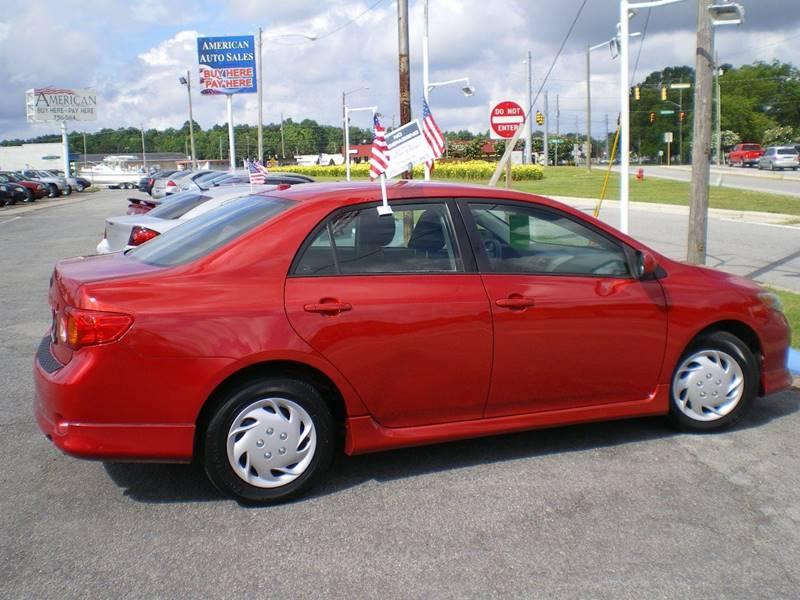 2009 Toyota Corolla S 4dr Sedan 5M - Greenville NC