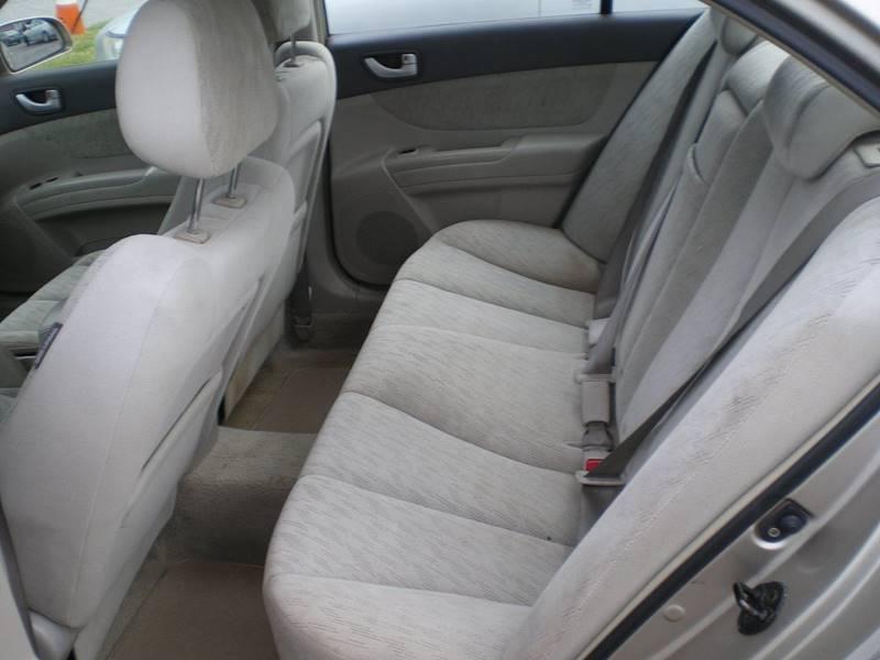 2006 Hyundai Sonata GL 4dr Sedan - Greenville NC