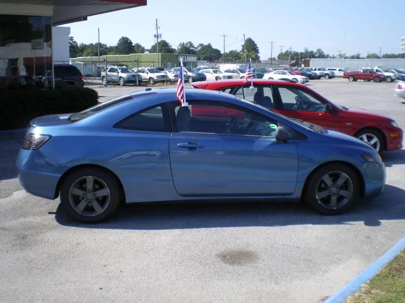 2006 Honda Civic EX 2dr Coupe w/Manual - Greenville NC