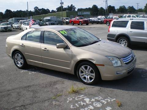 2007 Ford Fusion for sale in Greenville, NC