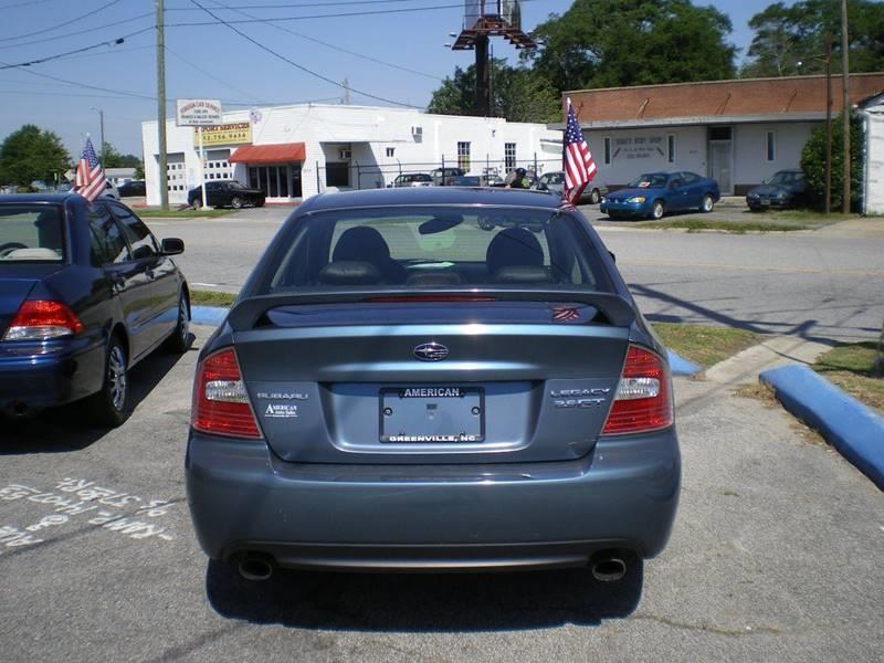 2005 Subaru Legacy AWD 2.5 GT Limited 4dr Turbo Sedan - Greenville NC