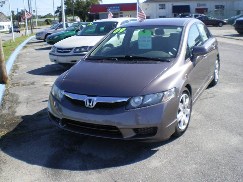 2009 Honda Civic LX 4dr Sedan 5A - Greenville NC