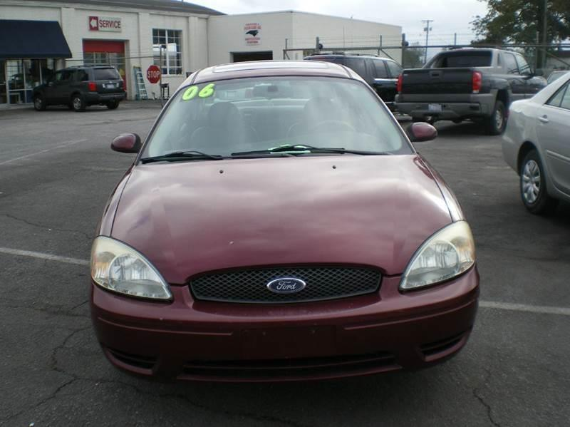 2006 Ford Taurus SEL 4dr Sedan - Greenville NC