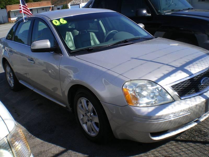 2006 Ford Five Hundred SEL 4dr Sedan - Greenville NC