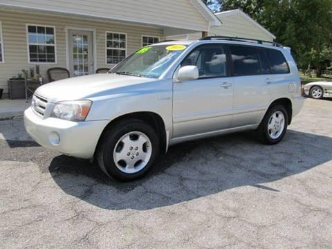 2005 Toyota Highlander for sale in Town Creek, AL