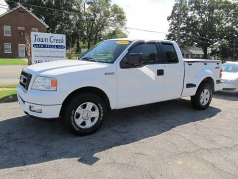2005 Ford F-150 for sale in Town Creek, AL